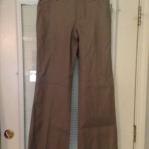 GAP Tan Flare Ankle Pants Size 2 NWT